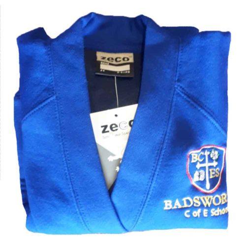 badsworth-blue-v-neck-sweat-cardigan