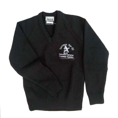 south-kirby-black-knitted-v-neck-jumper