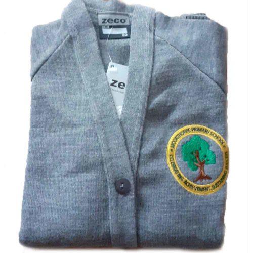 moorthorpe-primary-grey-knitted-cardigan